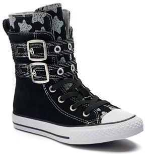 Kid's Converse Chuck Taylor All Star Glendale X-Hi High-Top Sneakers $60 thestylecure.com