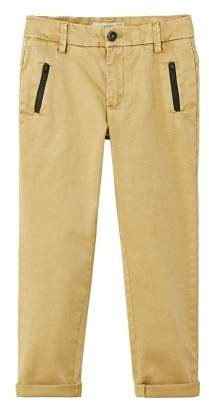 MANGO Zippers stretchy chinos