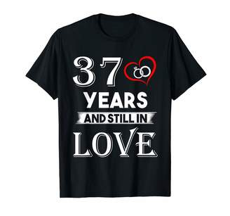 Medotukito Designs 37th Wedding Anniversary - 37th Years And Still In Love Shir