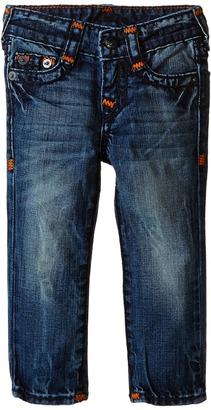 True Religion Kids Geno Super T Jeans in Blue Onyx (Toddler/Little Kids) $129 thestylecure.com