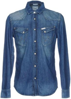 Wrangler Denim shirts - Item 42674531VI