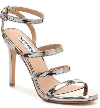 d6311ede57a Steve Madden Silver Ankle Buckle Women s Sandals - ShopStyle