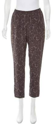 Stella McCartney Mid-Rise Silk Pants