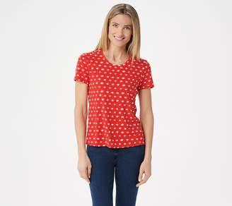 Brooke Shields Timeless BROOKE SHIELDS Timeless Short-Sleeve Printed T-Shirt