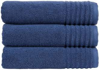 Christy Adelaide 100% Combed Cotton Towel Collection (Pairs) – Navy