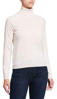 Neiman Marcus Majestic Paris for Cashmere Long-Sleeve Turtleneck Sweater