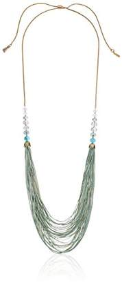 lonna & lilly Gold-Tone Multi-Row Necklace