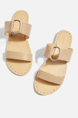 Topshop WIDE FIT Hooray Two Strap Sandals