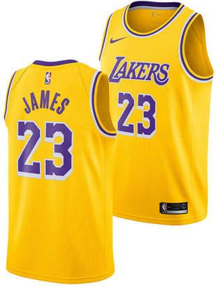 Nike LeBron James Los Angeles Lakers Icon Swingman Jersey, Big Boys (8-20)