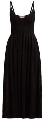 Mara Hoffman Delilah Jersey Dress - Womens - Black