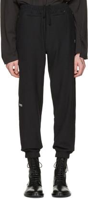 Vetements Black Champion Edition Chav Lounge Pants $725 thestylecure.com