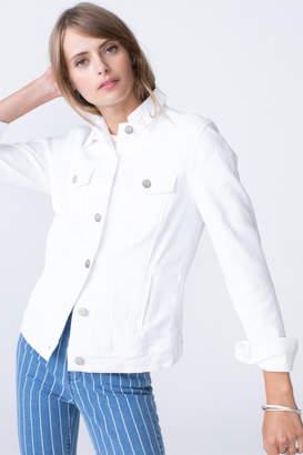 Unpublished White Denim Jacket