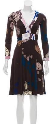 Issa Knee-Length Silk Dress
