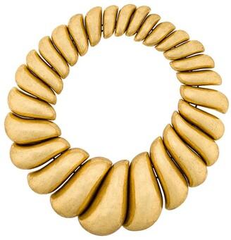 Monies Jewellery asymmetric round necklace