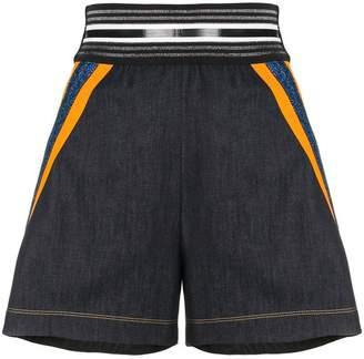 NO KA 'OI No Ka' Oi stripe trim sport shorts