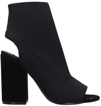 Steve Madden Ferris Stretch Knit Ankle Boots