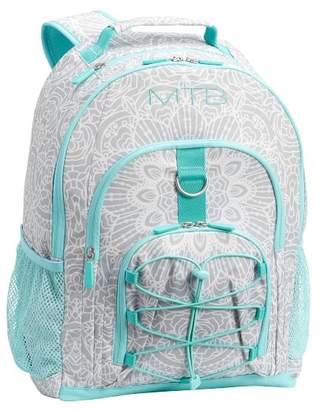Pottery Barn Teen Gear-Up Gray Kalli Medallion Backpack