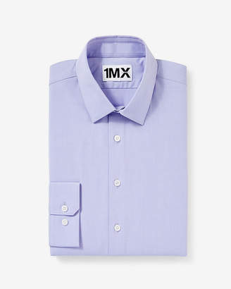 Express Extra Slim Easy Care Textured 1Mx Shirt