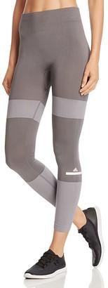 adidas by Stella McCartney Ess Seamless Stripe Leggings $130 thestylecure.com