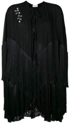 Magda Butrym Lamar fringed cape