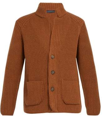 Thom Sweeney - Button Cashmere Cardigan - Mens - Brown