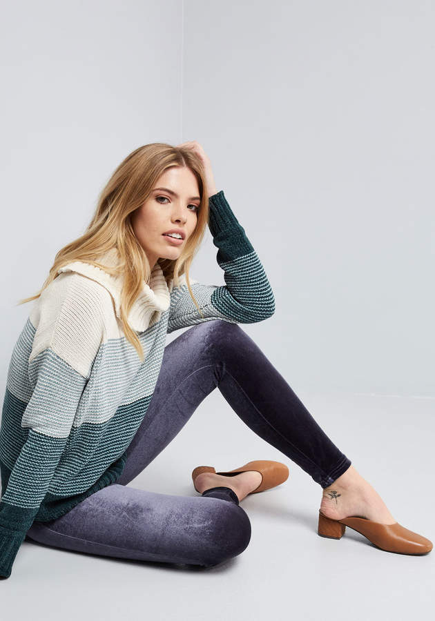 Afahk Ltd - Liza Luxe Limitless Looks Velvet Jeggings