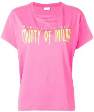 Marcelo Burlon County of Milan crew neck T-shirt