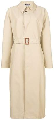 Maison Margiela belted waist trench coat