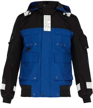 Junya Watanabe Reflective nylon jacket