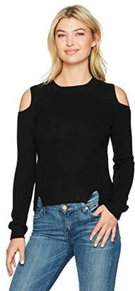 Lucky Brand Women's Cold Shoulder Pullover Sweater
