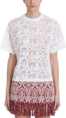 Chloé Chlo? Lace T-shirt