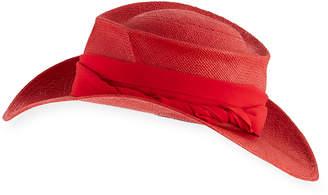 Gladys Tamez Moss Straw Cowboy Hat