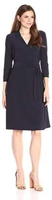 Nic+Zoe Women's Luxe Jersey Wrap Dress