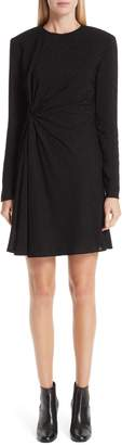 Saint Laurent Knotted Side Dress