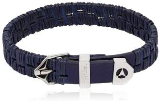 Northskull Alawo Stitched Leather Bracelet