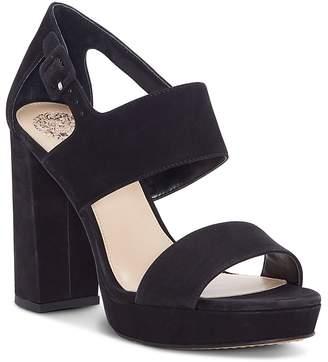Vince Camuto Women's Jayvid Suede Platform Sandals