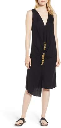 Kenneth Cole New York Twist Midi Dress