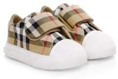 Burberry Baby's Beech Tartan Sneakers