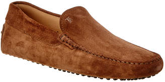 Tod's Gommino Driving Suede Loafer