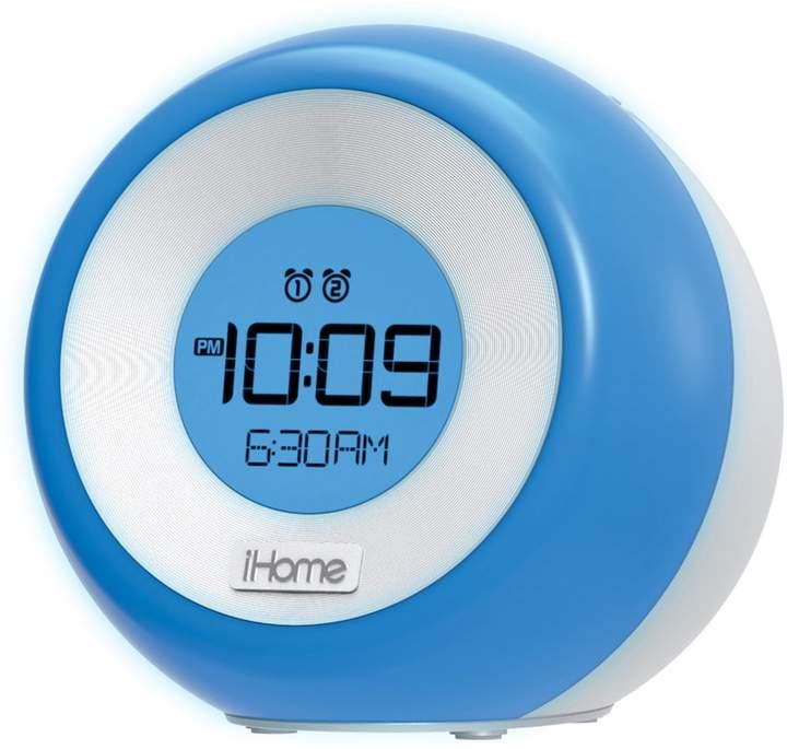 Ihome iHome iM29 Color-Changing Dual Alarm FM Clock Radio with USB Charging