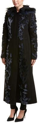 Elie Tahari Wool Coat