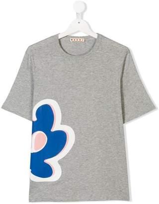 Marni flower patch T-shirt
