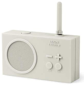 Lexon NEW Tykho 2 Rechargeable Radio White