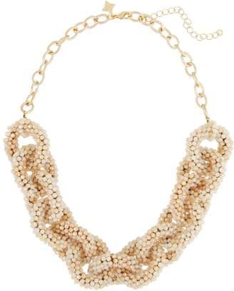 Panacea Crystal Link Collar Necklace