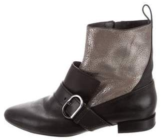 3.1 Phillip Lim Pointed-Toe Ankle Boots
