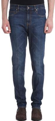 Ermenegildo Zegna 5 Pockets Blue Denim Jeans