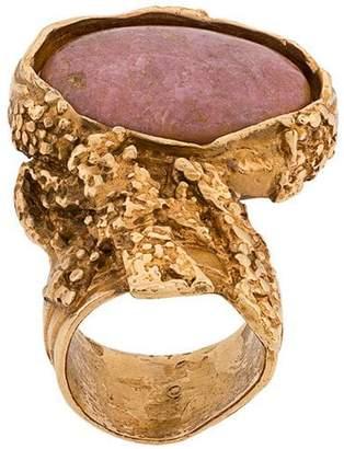 Saint Laurent stone ring
