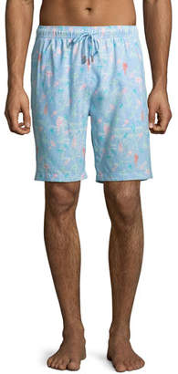 85465075bd Peter Millar Men's Fly Fish Swim Trunks