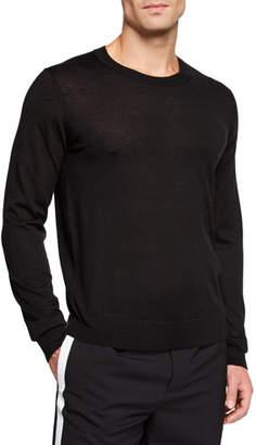 Helmut Lang Men's Logo Back Long-Sleeve Shirt
