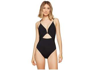 Nanette Lepore Origami Pleats Goddess One-Piece Women's Swimsuits One Piece
